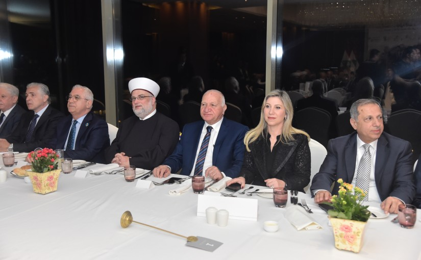 Diner Hosted By Food Traders in Honors of Pr Minister Saad Hariri Representing by Roula Tabesh