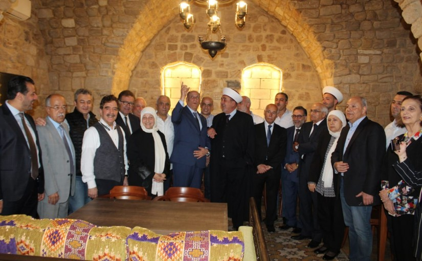 Tour for Minister Jamal Jarrah in Saida