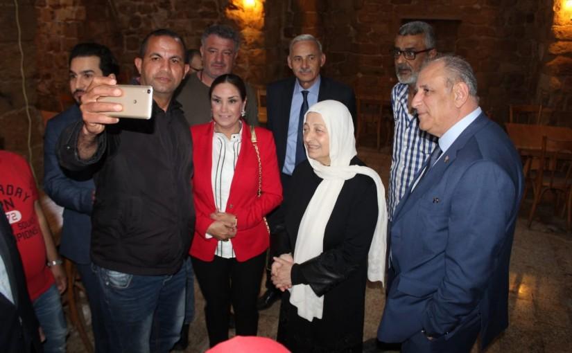 Tours for Minister Jamal Jarrah in Saida