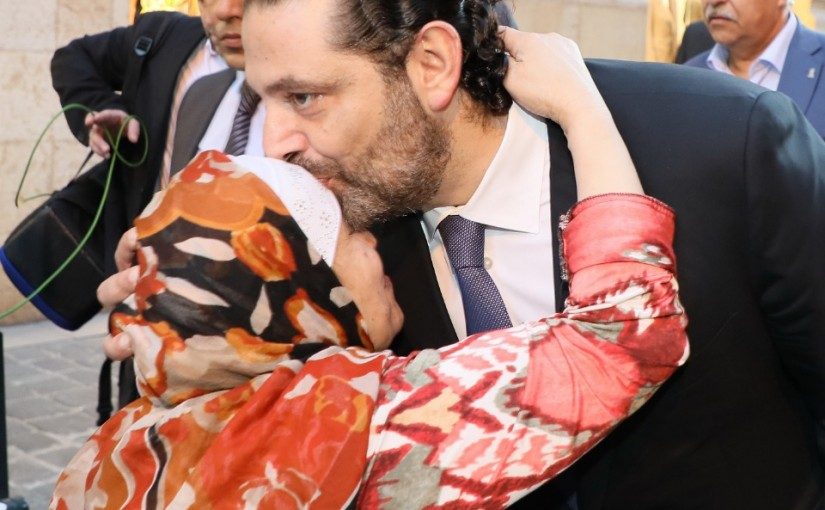 Tours for Pr Minister Saad Hariri at Downtown Beirut