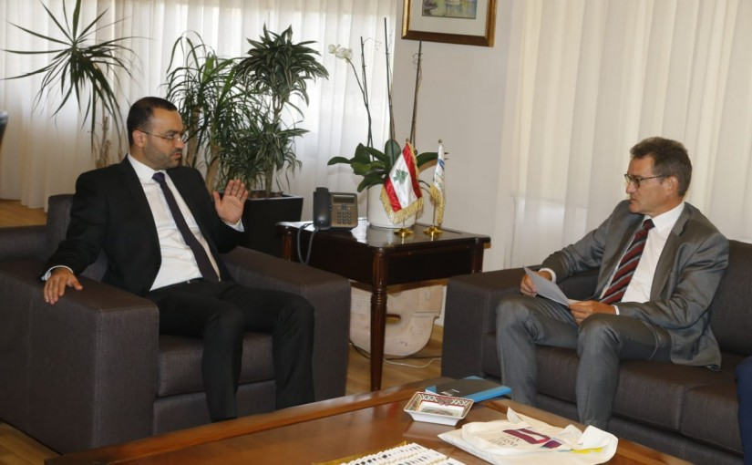 Minister Mouhamad Daoud Daoud meets German Ambassador