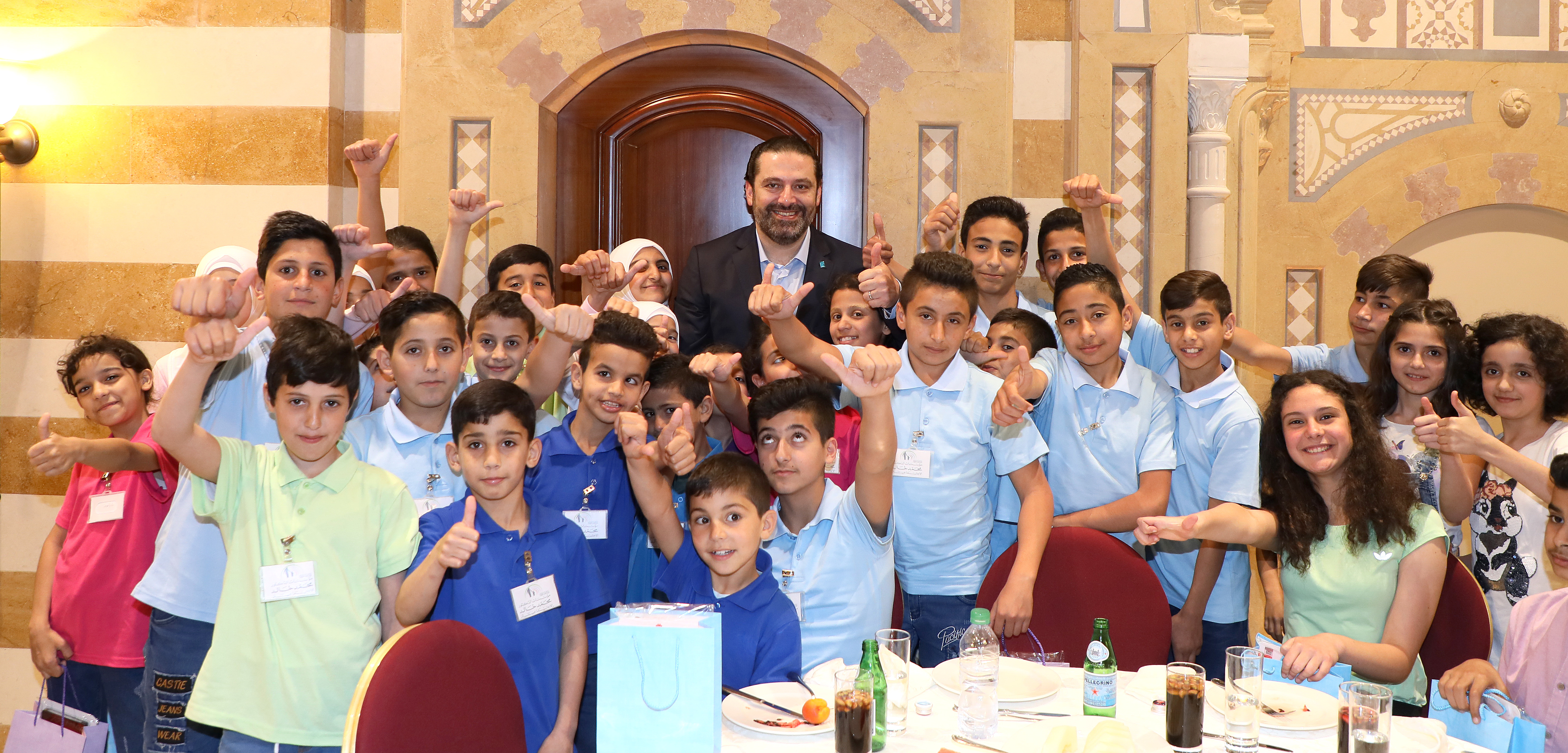 Iftar Hosted by Pr Minister Sad Hariri in Honors of a Delegation from Lebanese Orphanage Association 1