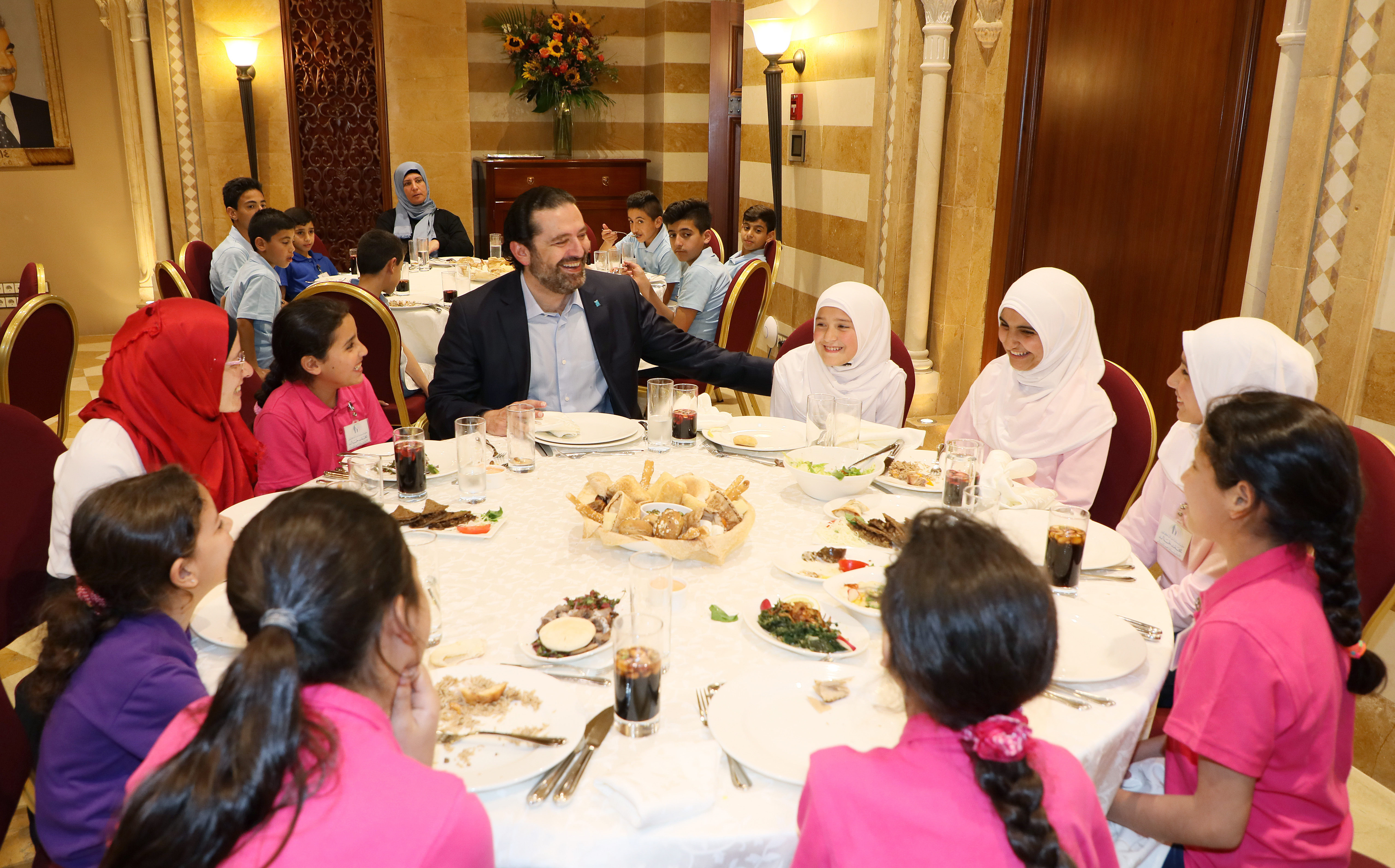 Iftar Hosted by Pr Minister Sad Hariri in Honors of a Delegation from Lebanese Orphanage Association 10