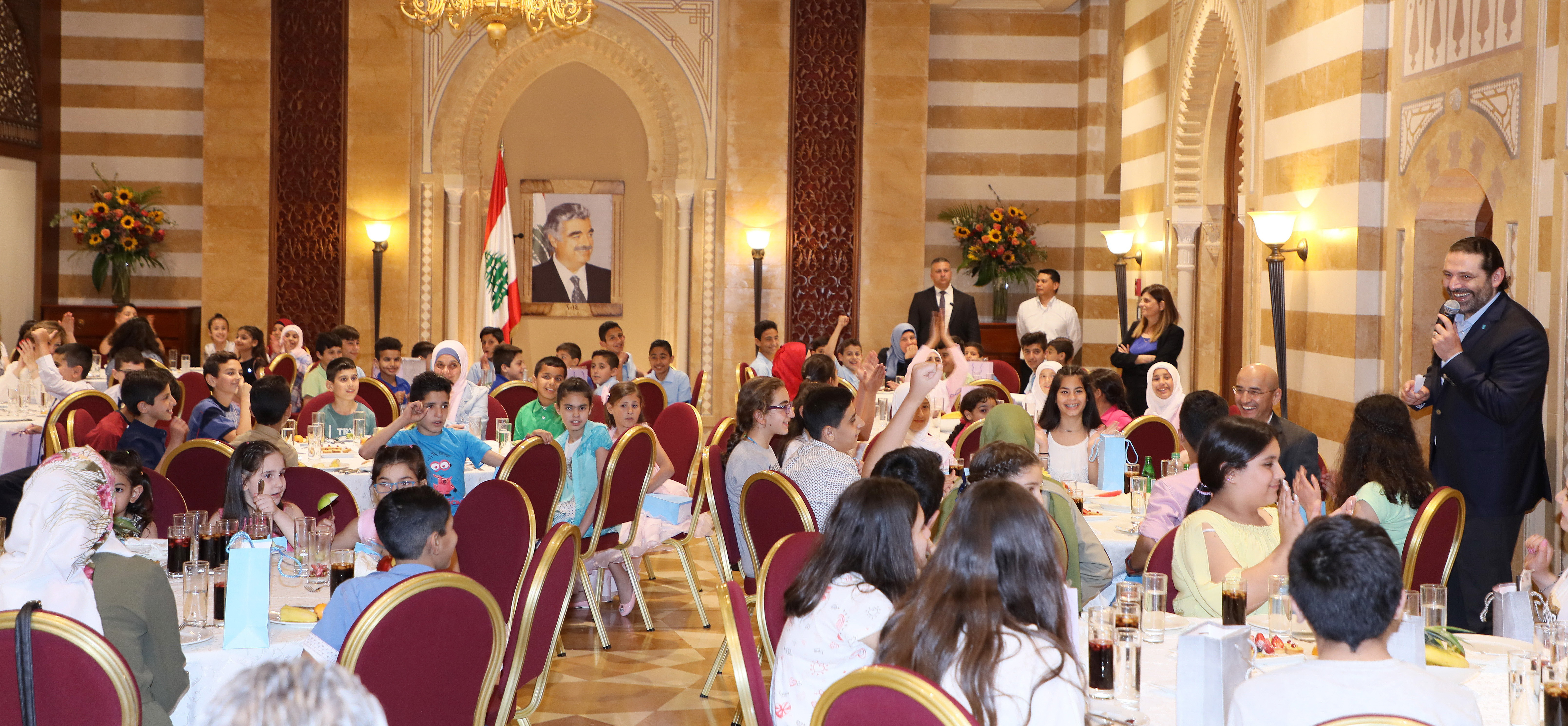 Iftar Hosted by Pr Minister Sad Hariri in Honors of a Delegation from Lebanese Orphanage Association 2