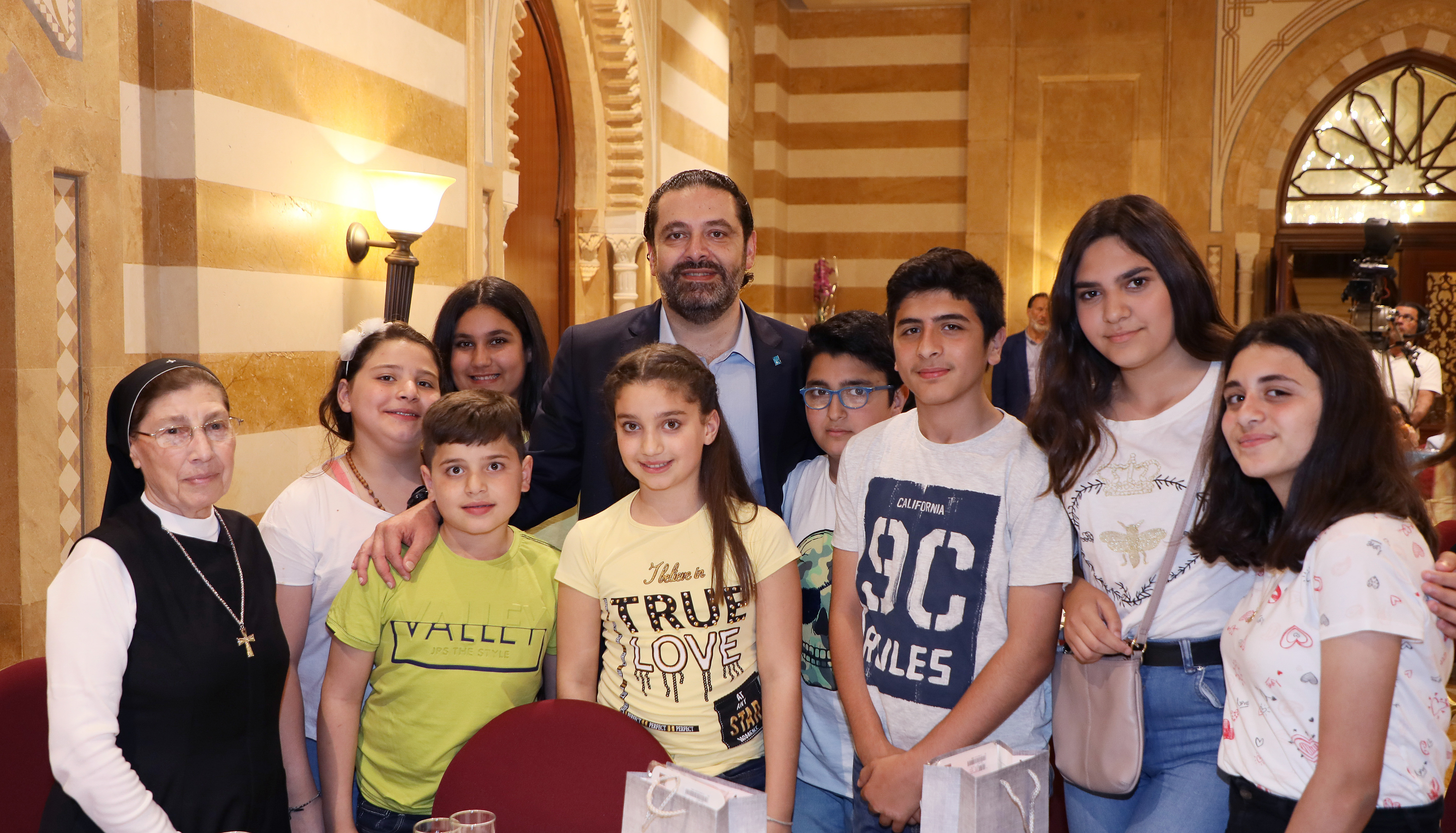 Iftar Hosted by Pr Minister Sad Hariri in Honors of a Delegation from Lebanese Orphanage Association 3