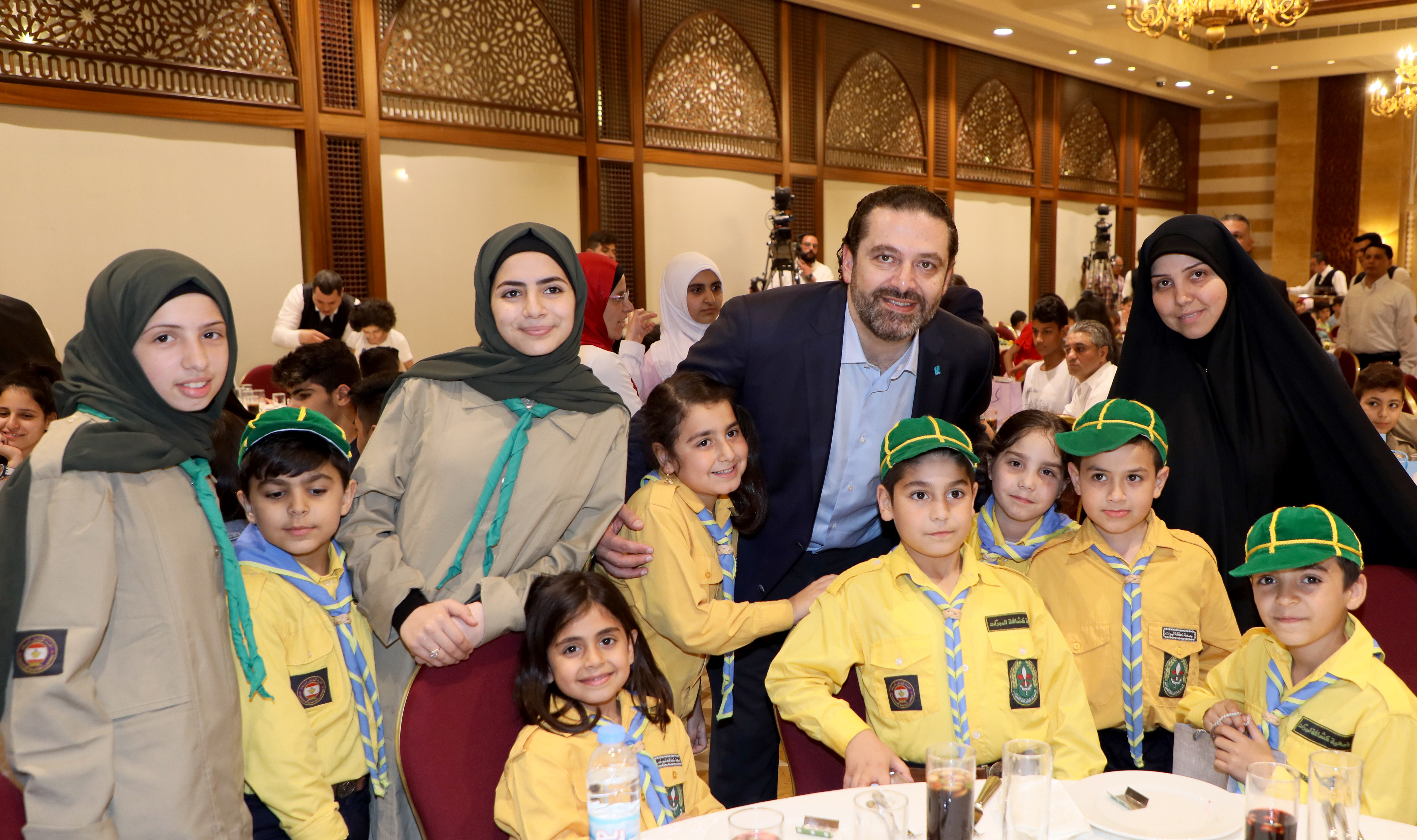 Iftar Hosted by Pr Minister Sad Hariri in Honors of a Delegation from Lebanese Orphanage Association 4
