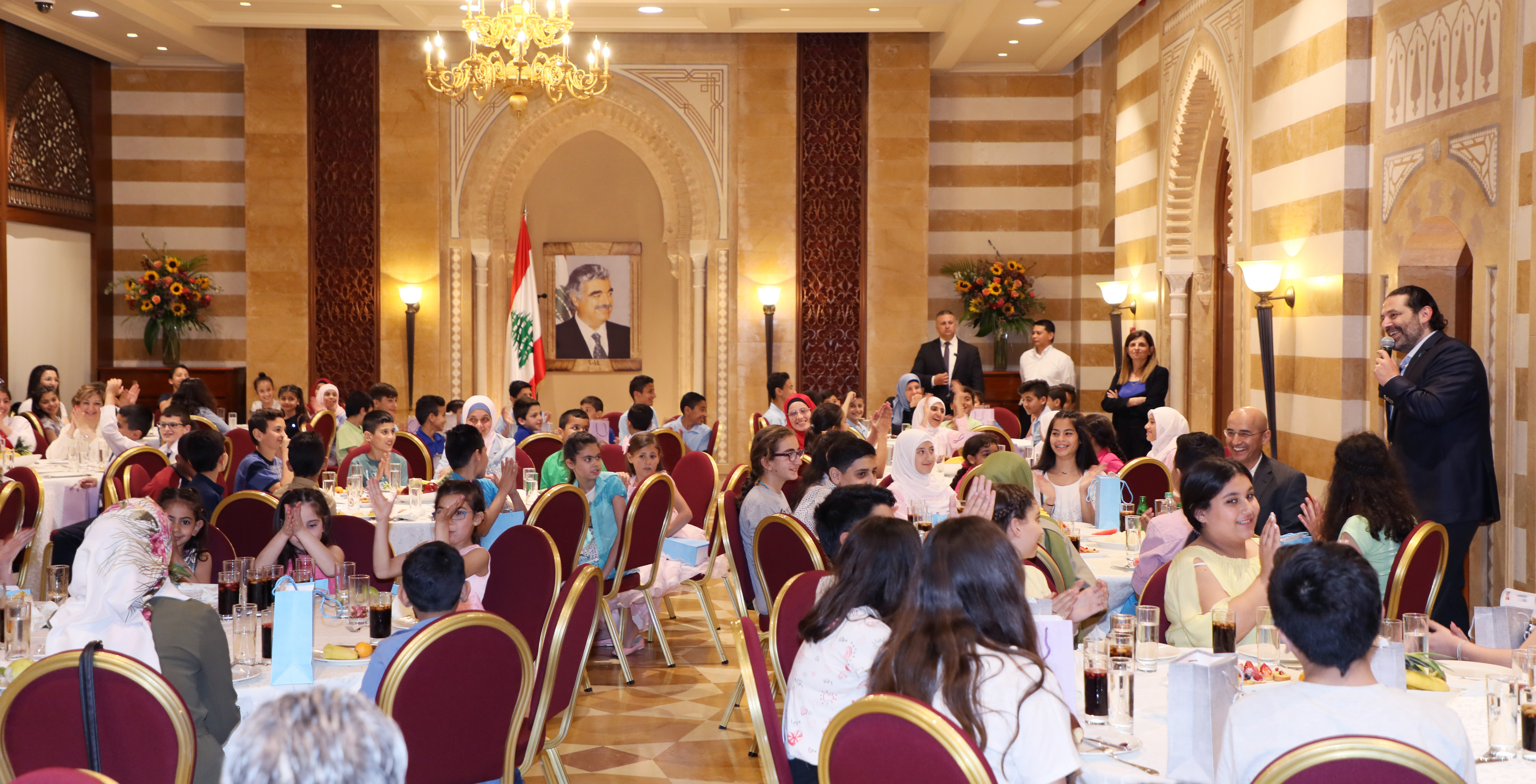 Iftar Hosted by Pr Minister Sad Hariri in Honors of a Delegation from Lebanese Orphanage Association 6