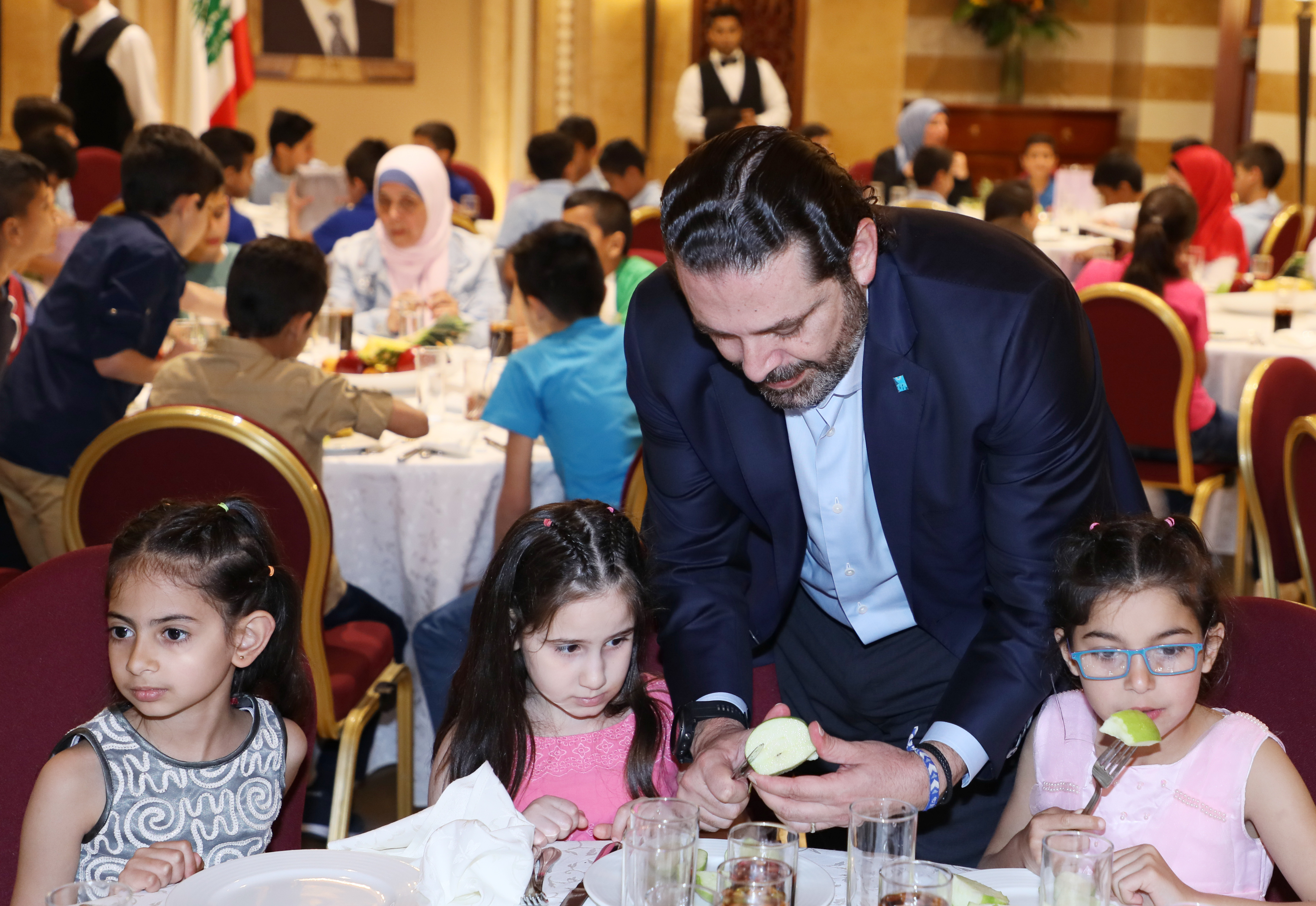 Iftar Hosted by Pr Minister Sad Hariri in Honors of a Delegation from Lebanese Orphanage Association 7