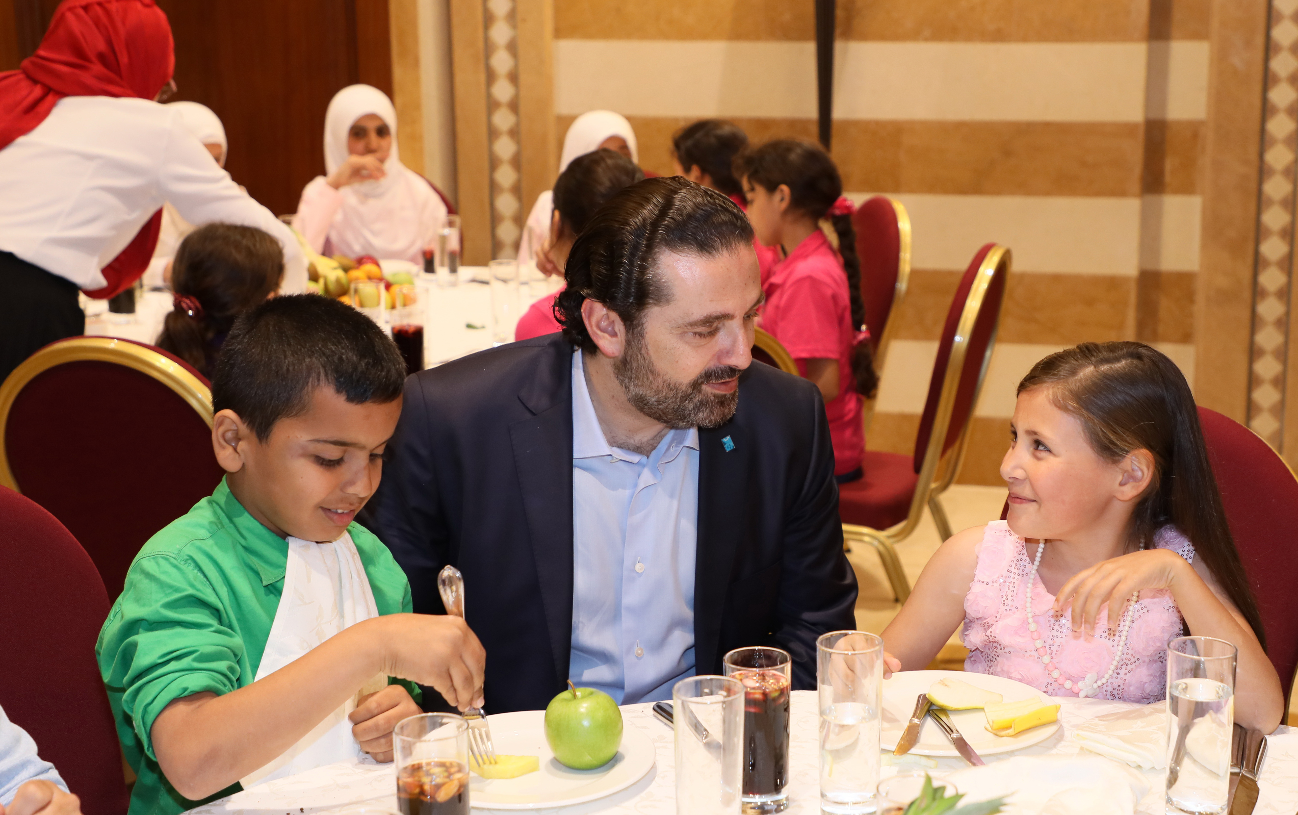 Iftar Hosted by Pr Minister Sad Hariri in Honors of a Delegation from Lebanese Orphanage Association 8