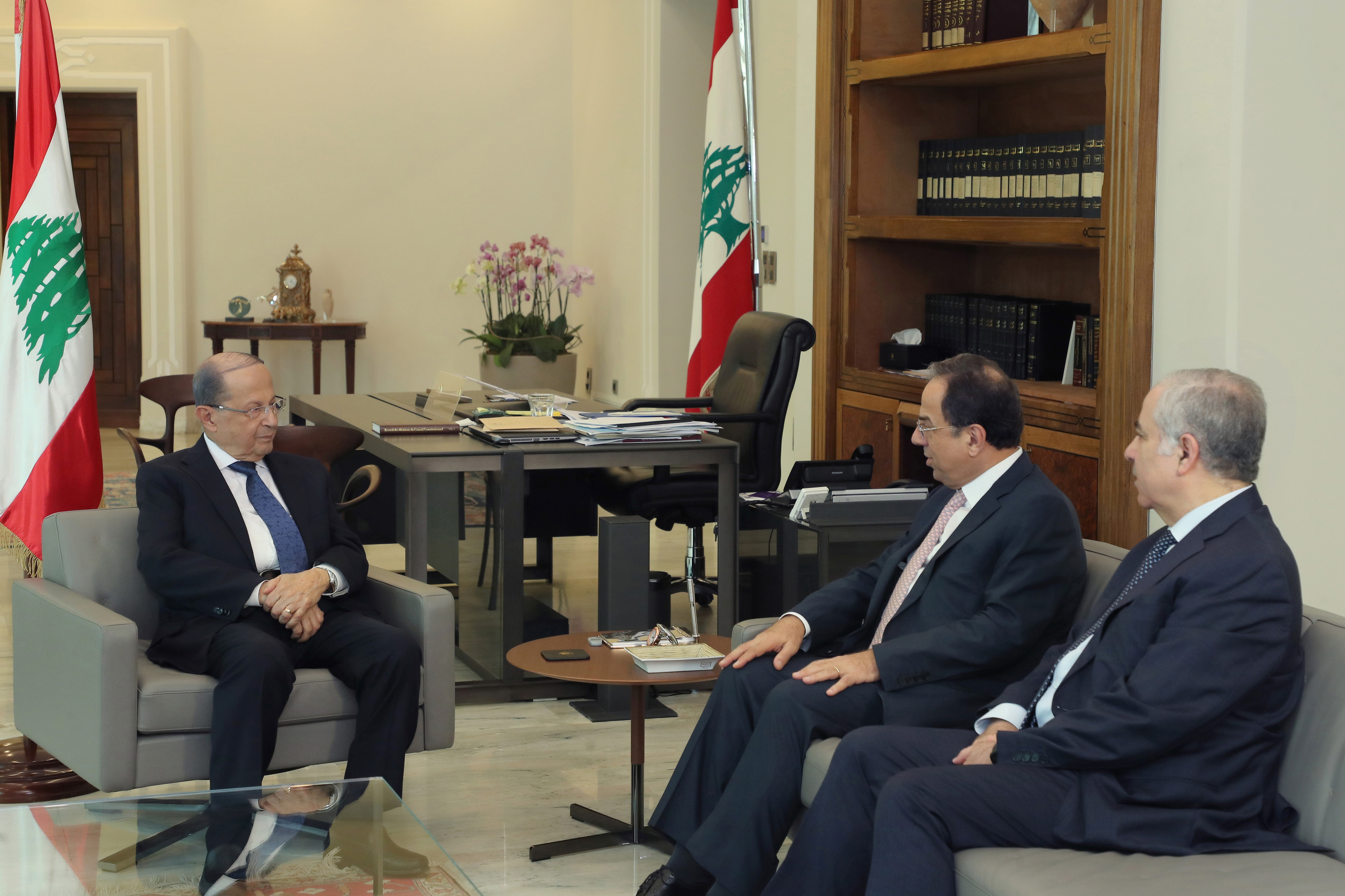 Minister Mansour Bteich