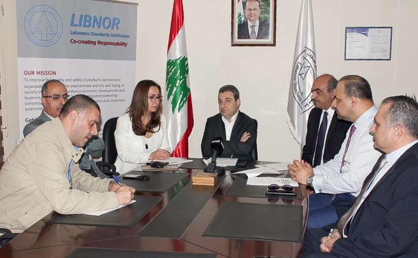 Minister Wael abou Faour Visits LEBNOR