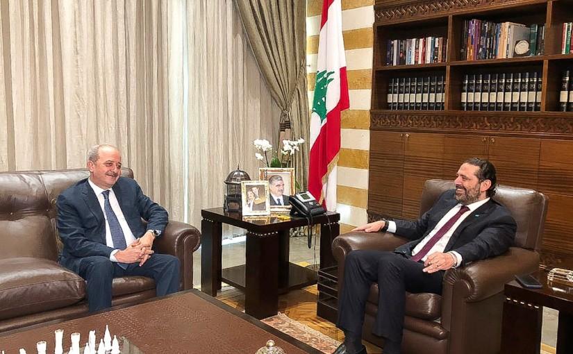 Pr Minister Saad Hariri meets Mr Mouhamad Mrad