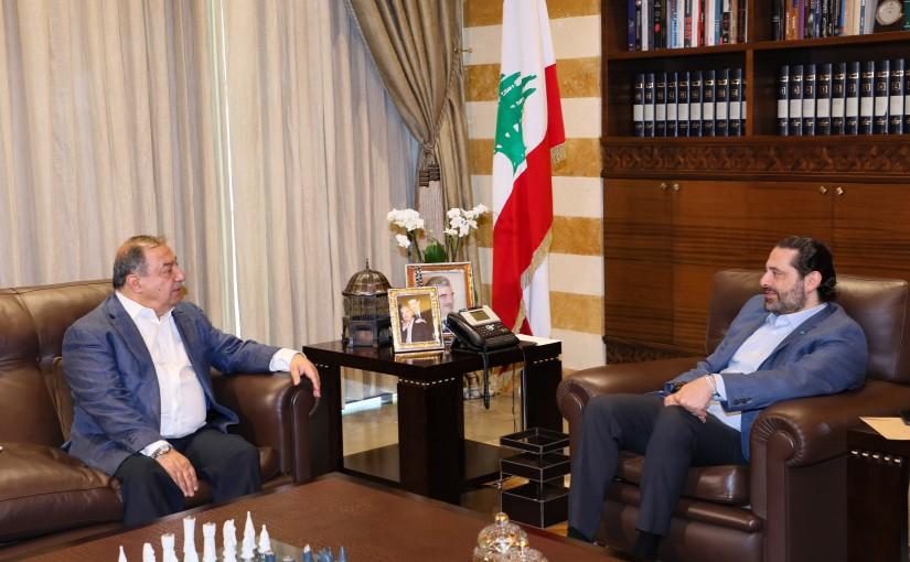 Pr Minister Saad Hariri meets Mr Aouni Kaaki