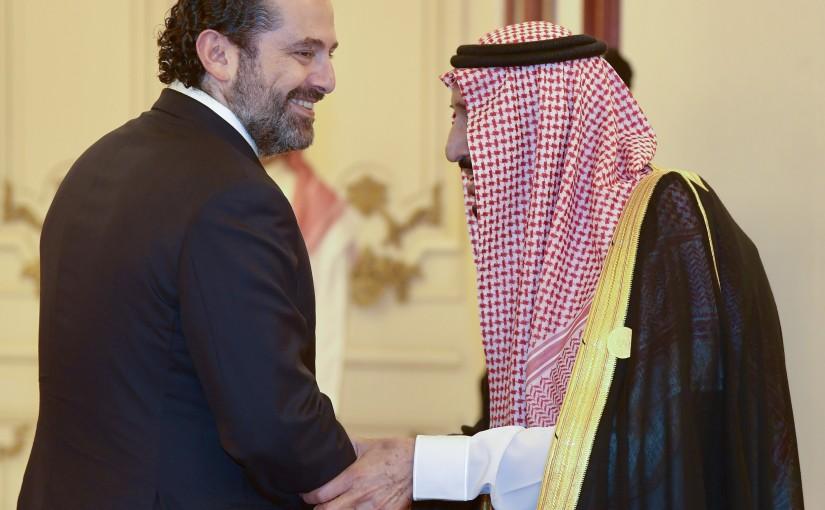 Pr Minister Saad Hariri meets Saudi King Salman Bin Abdel Aziz