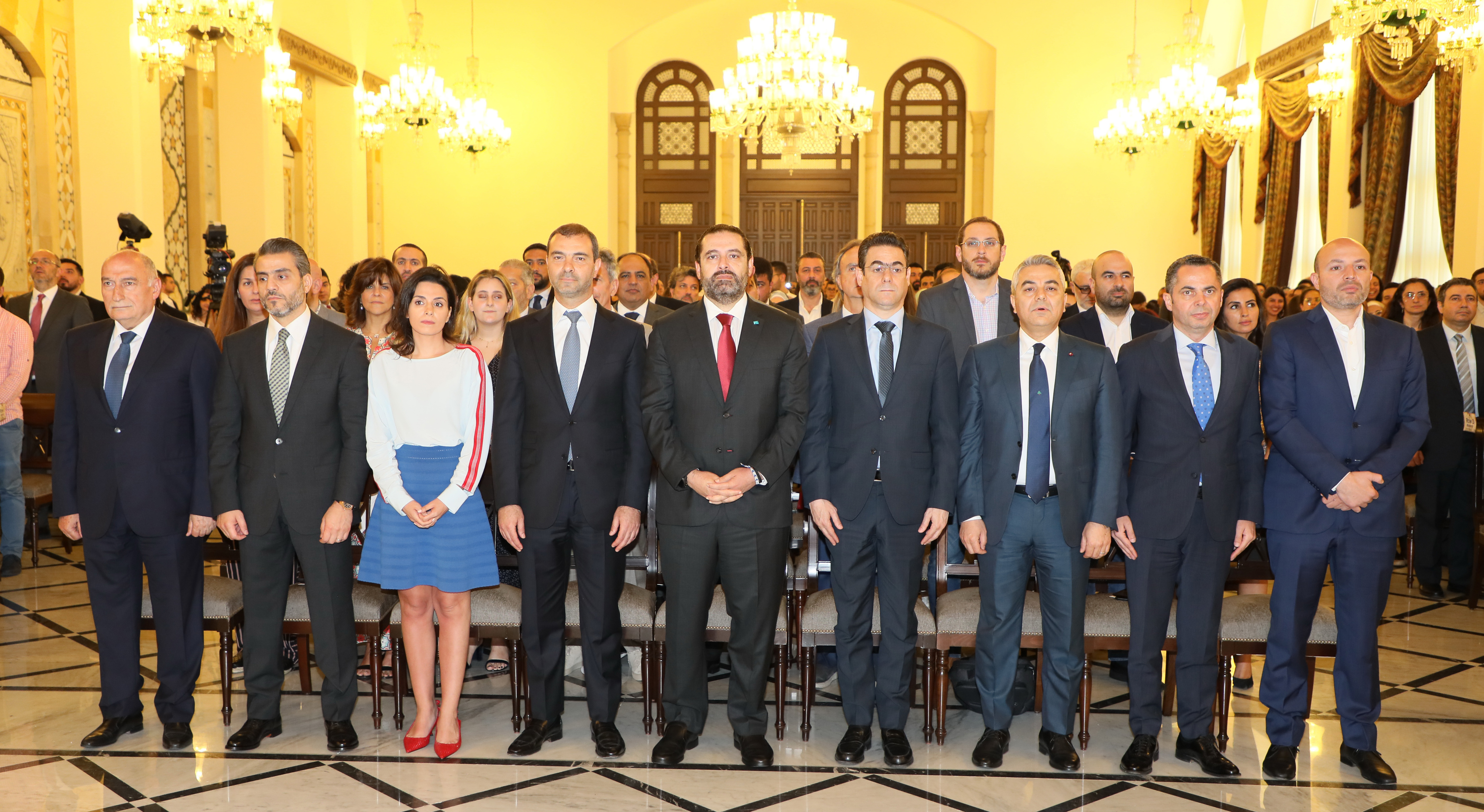 Pr Minister Saad Hariri Attends a Tournement at the Grand Serail 3