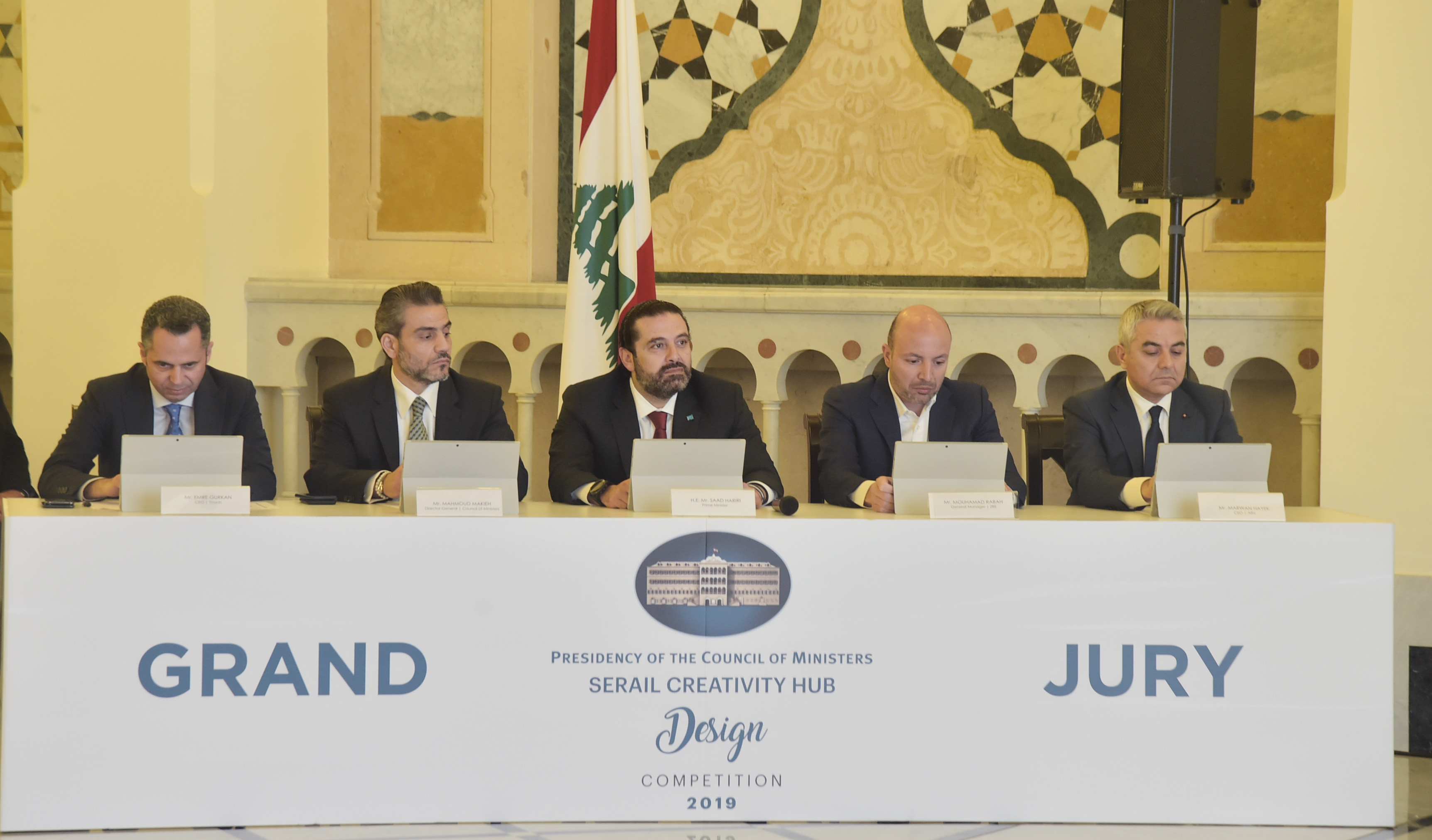 Pr Minister Saad Hariri Attends a Tournement at the Grand Serail 5