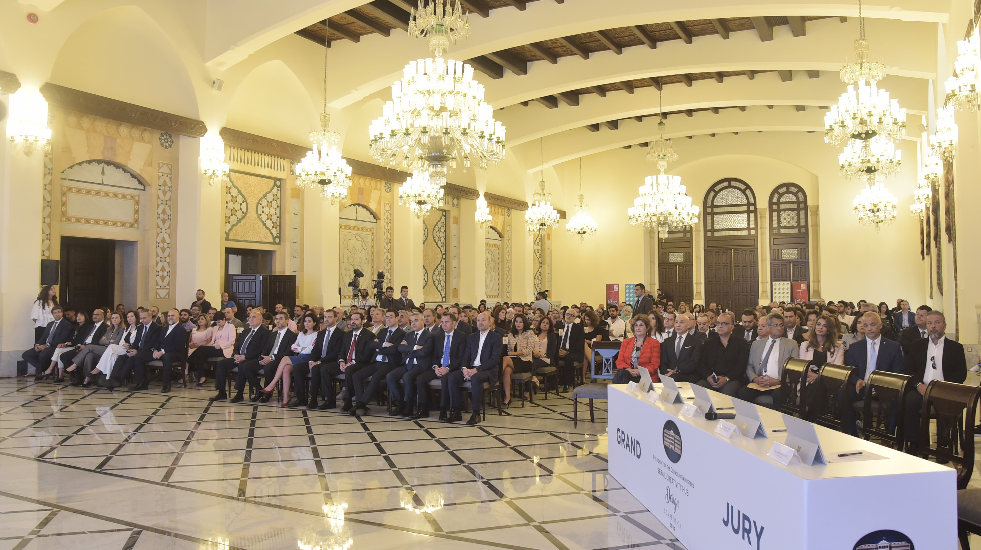 Pr Minister Saad Hariri Attends a Tournement at the Grand Serail 6