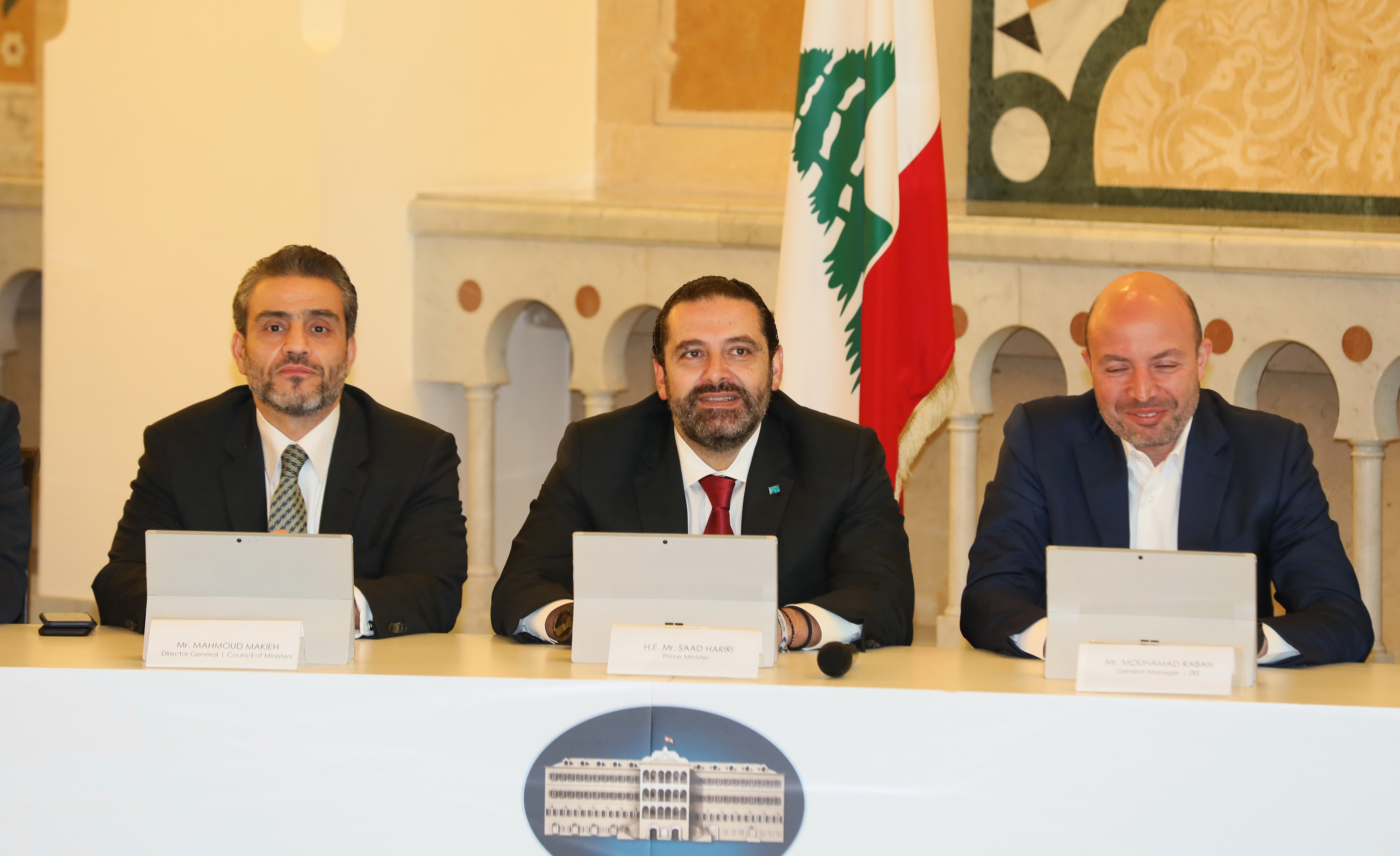 Pr Minister Saad Hariri Attends a Tournement at the Grand Serail 7