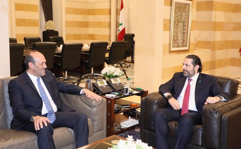 Pr Minister Saad Hariri meets Ambassador Ghassan el Moualem