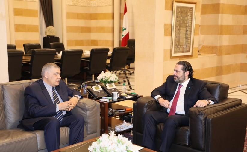 Pr Minister Saad Hariri meets Azarbedjian Ambassador