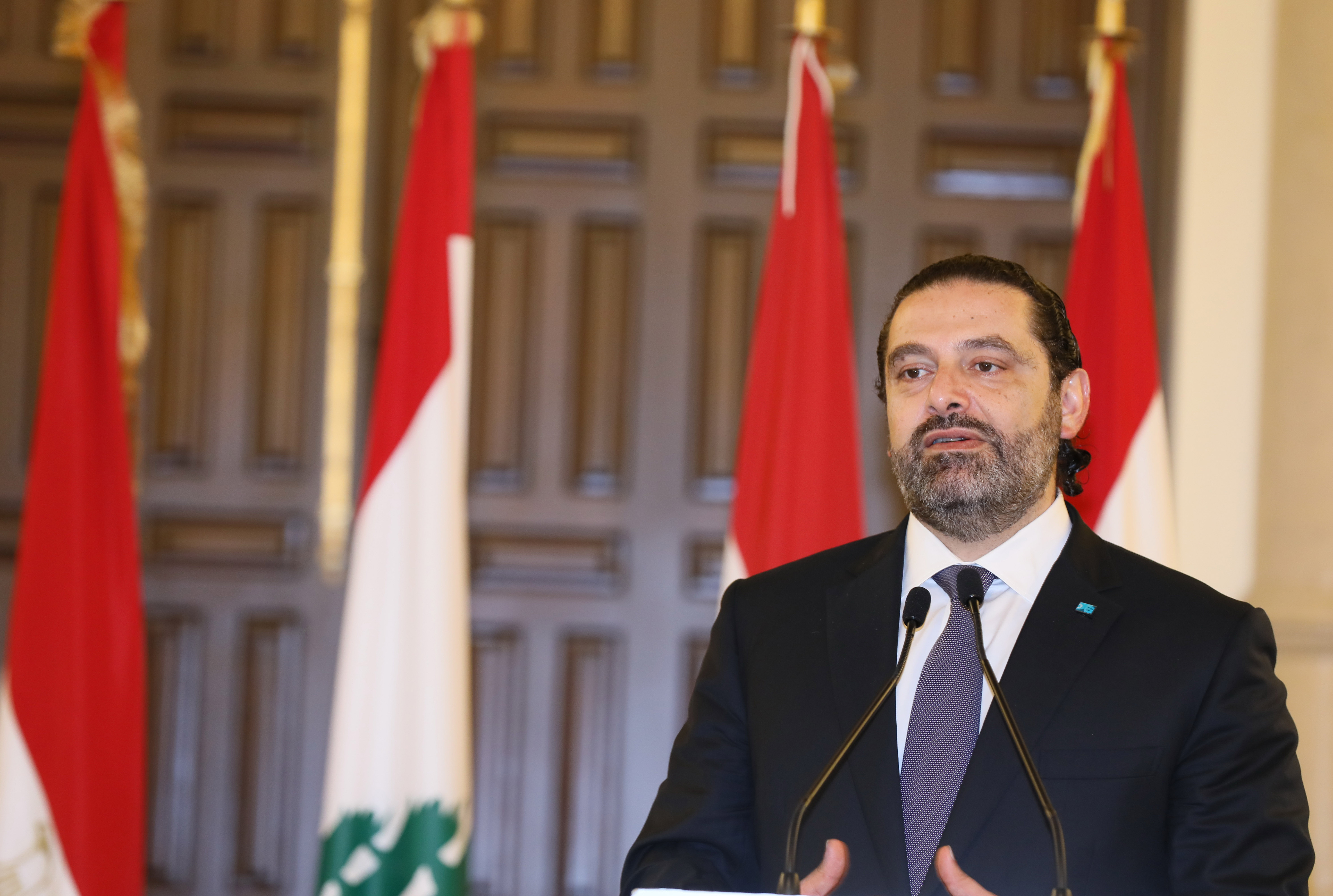 Pr Minister Saad Hariri meets Egyptian Pr Minister 3