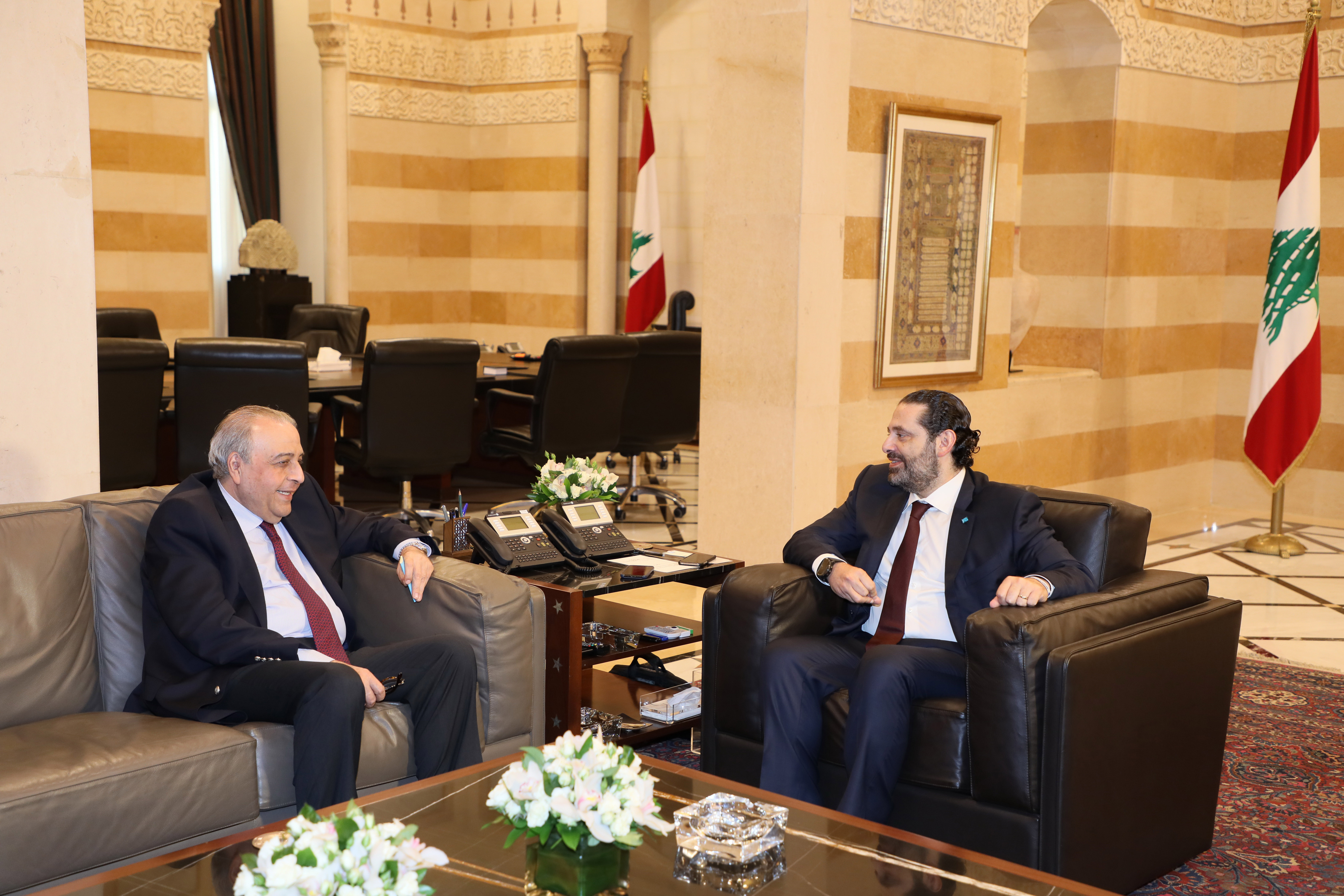 Pr Minister Saad Hariri meets Judje Imad Kabalan