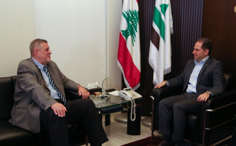 MP Sami Gemayel Meets United Nations Special Coordinator for Lebanon Jan Kubis
