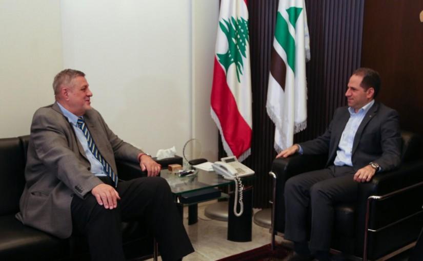 MP Sami Gemayel Meets United Nations Special Coordinator for Lebanon Jan Kubis