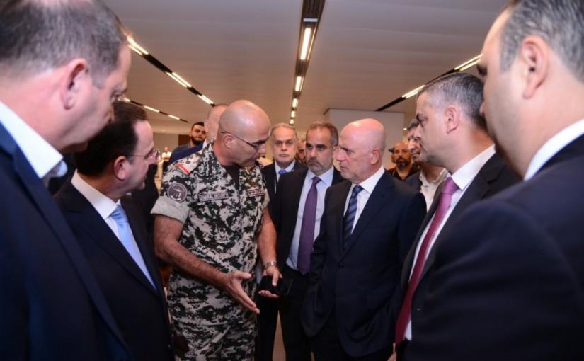 Ministers Youssef Fenianos & Avedis Kadanian Tour at Beirut Airport