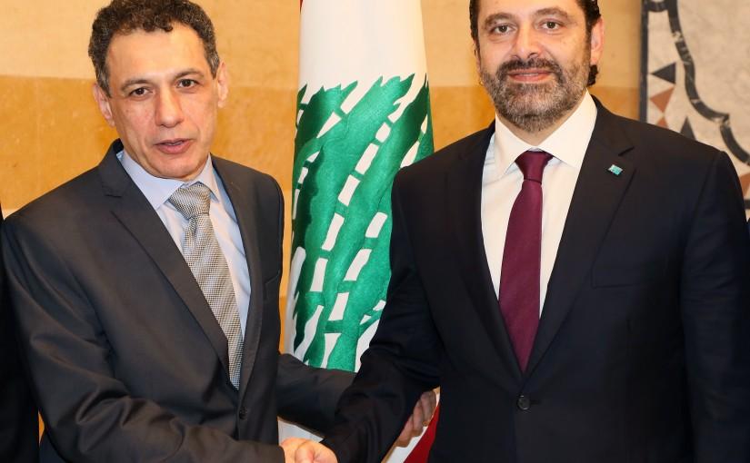 Pr Minister Saad Hariri meets Mr Nizar Zaka