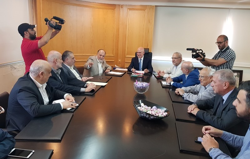 Minister Youssef Fenianos Meets MP Ali Amar with a Delegation