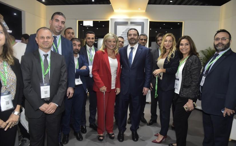 Pr Minister Saad Hariri Inaugurates the Arabnet Conference at Seaside Beirut
