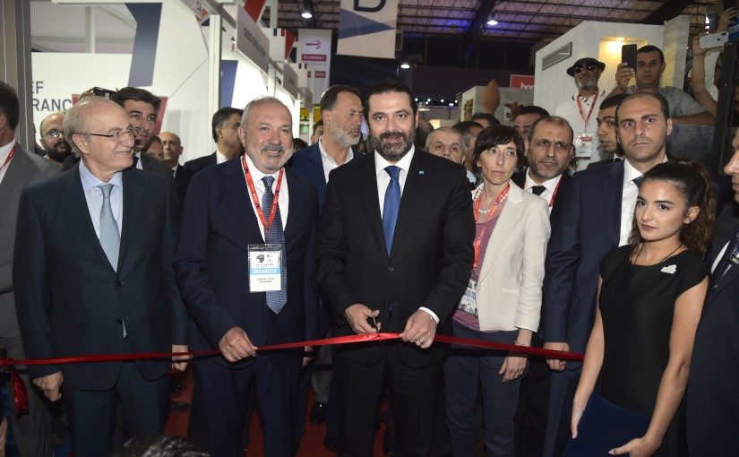 Pr Minister Saad Hariri Inaugurates Projects Lebanon Fair at Seaside Beirut