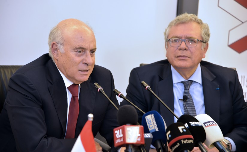 Minister Kamil Abou Sleiman Visits the Industrial Chamber of Beirut