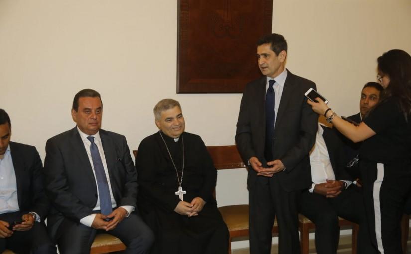 Minister Richard Kouyoumdjian Visits the Arminian Catholic Archdiocese