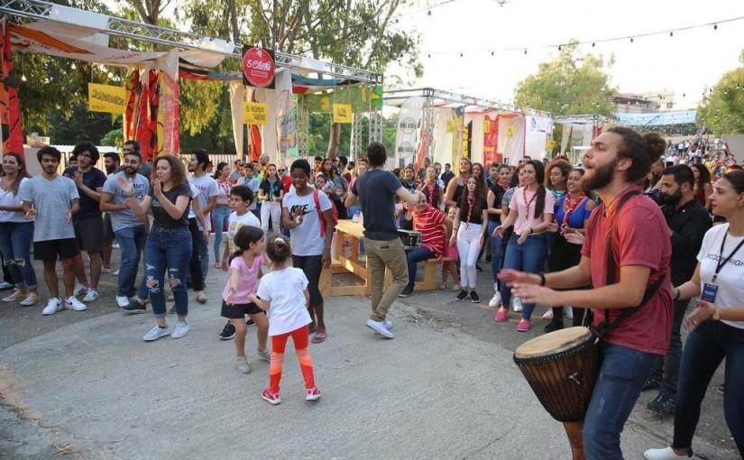 Minister avedis kadanian inaugurates  dbayeh festivals