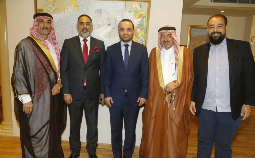 Minister Mouhamad Daoud Daoud meets a Delegation from Arab Tribes