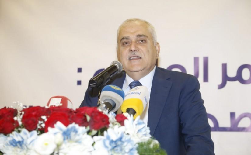 Press Conference for Minister Jamil Jabak at Ramada Hotel