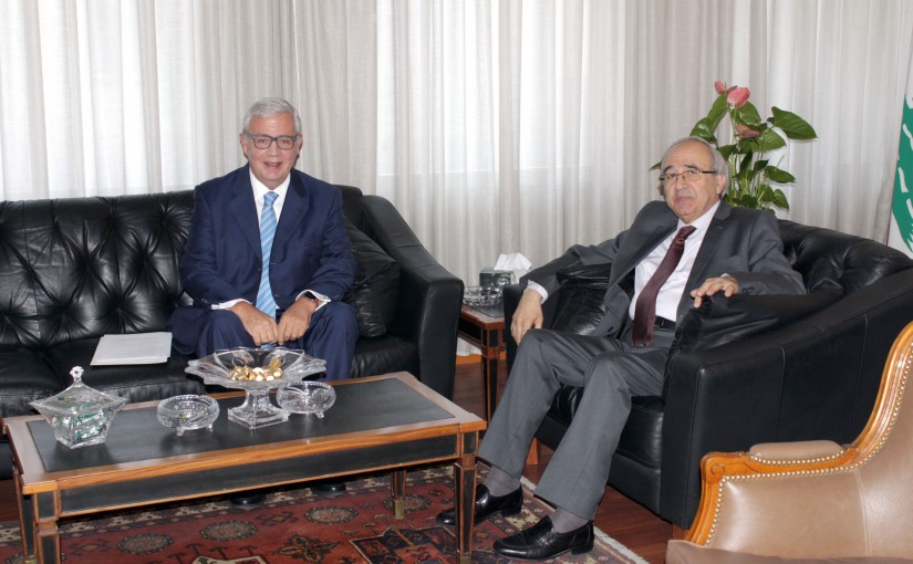 Minister Albert Serhan meets Mexican Ambassador