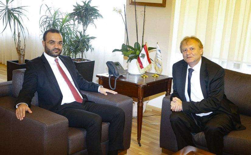 Minister Mouhamad Daoud Daoud meets Deputy Speaker of the Hungarian House of Representatives exhausted Heller