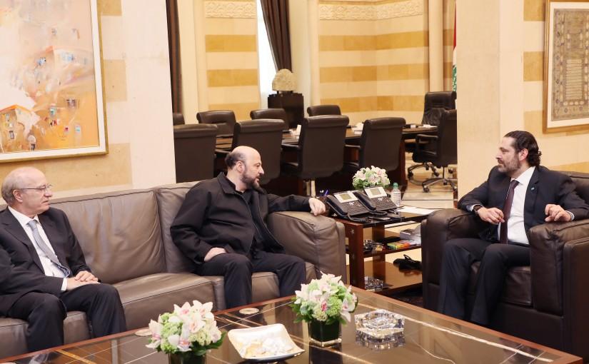 Pr Minister Saad Hariri meets Former MP Melhem Riachi