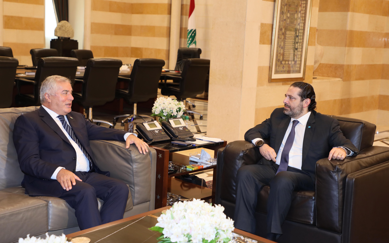 Pr Minister Saad Hariri meets Tajakhestan Ambassador