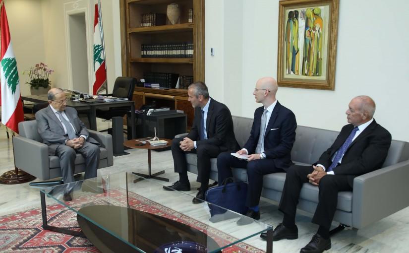 President Michel Aoun Meets Slovenian Ambassador