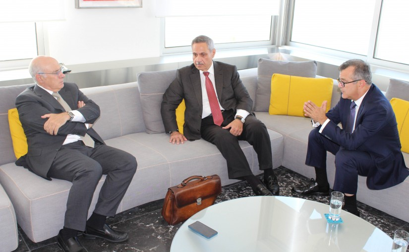 Minister of Labor Kamil Bou Sleiman Meets Mr Walid Assaf