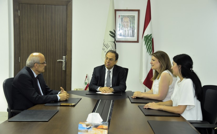 Minister Mansour Bteich meets a Delegation from Doctors Syndicate