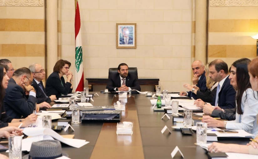 Pr Minister Saad Hariri Heading the Telecommunications Committee