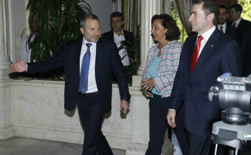 Minister Gebran Bassil meets Paraguay Minister of Foreign Affairs