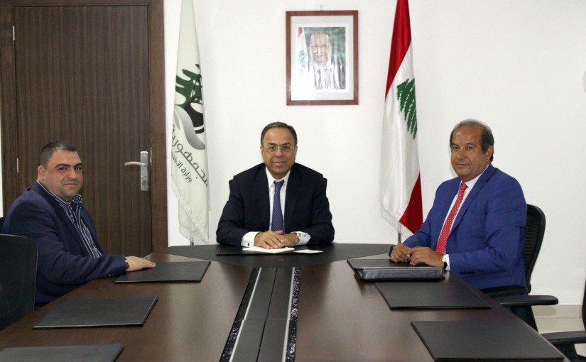 Minister Mansour Bteich meets a Delegation from World Informatics Association