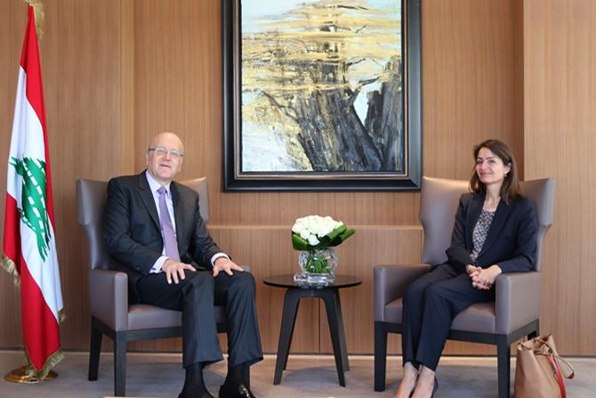 Former Pr Minister Najib Mikati Meets European Ambassador