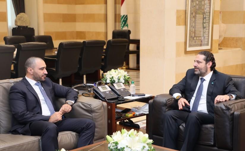 Pr Minister Saad Hariri meets Mr Omar Moussali